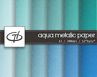 Shiny Digital Paper: high quality printable paper set, shiny textile texture