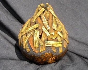 Carved Sticks on Gourd