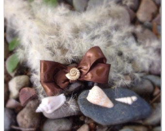 Sea Shell Hair Bow