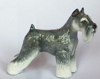 Min. Schnauzer Figurine Collectible