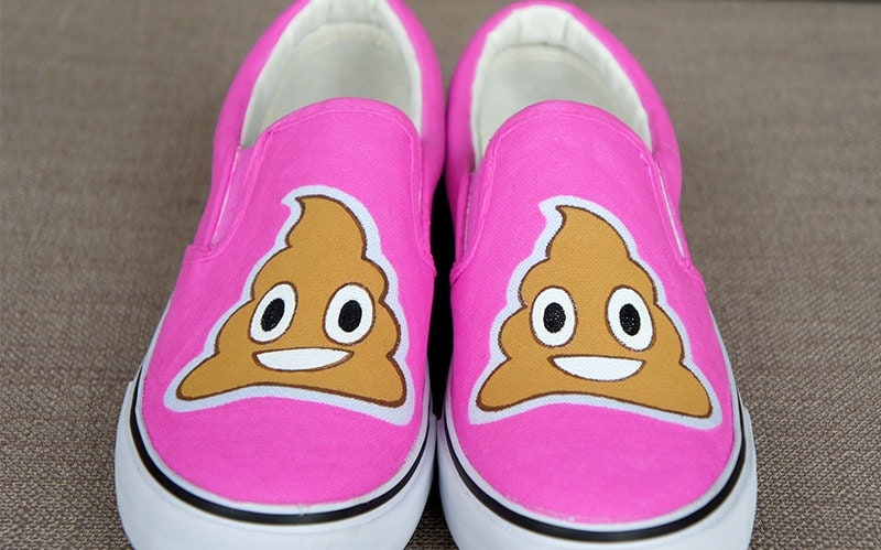 Emoji Shoes from TapkiShop on Etsy