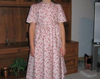 Custom Girls Romantic Era Dress