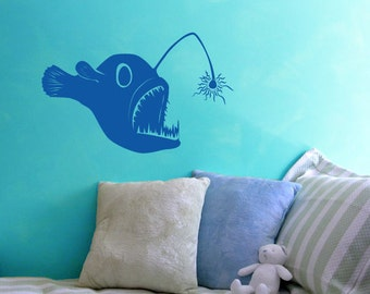 Angler Fish- Vinyl Decal