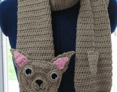 Crochet Chihuahua Dog Scarf Made to Order