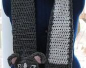 Pit-Bull Scarf Crochet Pattern in Downloadable PDF