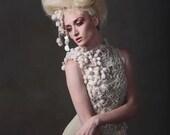 Cream & Sage Gown