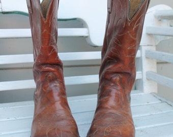Vintage HYER Cowboy boots