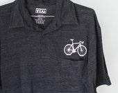 SALE Bike Shirt SMALL Men's Bicycle Leisure Polo S