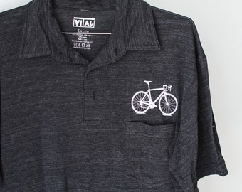 SALE Bike Shirt SMALL Men's Bicycle Leisure Polo S