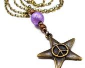 Plus Size, Little Twinkle Star in Planetary Purple, Plus Size Jewelry