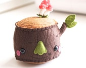 Pincushion - Large Mr Tree Stump Plush