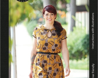Miz Mozelle Dress e-pattern (pdf sewing pattern)
