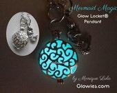 Mermaid's Magic Glow Locket Aqua