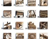 Boston Stone Drink Coaster Set - Pick Any 4. Original photography.