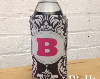 Water Bottle Cozie - Huggie - Personalize your Own Water Bottle Sleeve with Monograms & Patterns