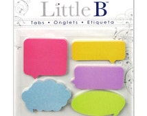 Captions Adhesive Tabs • Captions Paper Tabs (150pcs) Post It Notes Index Tabs • Page Markers• Office Supplies • Desk Accessories (100080)
