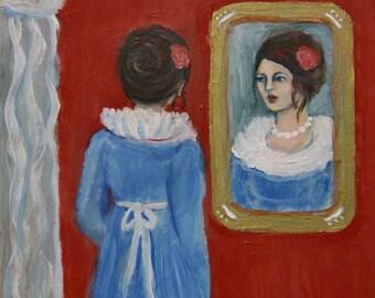 Silent Reflection - Original Painting