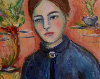 A Model for Cezanne - Original Painting