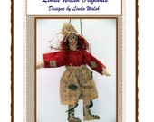 Crowin Mike Primitive Scarecrow Ornament Doll E-Pattern