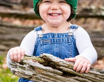 9 Sizes Emerald Green Hat Baby Hat Baby Girl Hat Toddler Hat Toddler Girl Hat Womens Hat 30 Flower Colors Baby Beanie Toddler Beanie Flapper