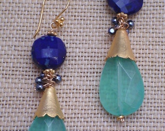 Lots of Blue Earrings ***This item is currently RESERVED