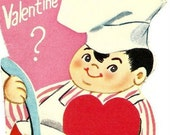 TEN Vintage Valentines from the 60's. *Free Shipping