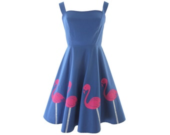 Flamingo Dress