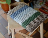 Laptop sleeve, macbook sleeve, apple bag, protective case, natural autumn colours, knitted 13 inch