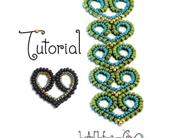 TUTORIAL Beaded Lace Hearts Part 6 of the Beaded Lace Adventure