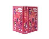 Fairy Tales From Around The World Large Hollow Book Box Booksafe Pink Gold Teens Christmas Gift Handmade With Magnet Option - CUSTOM ORDER