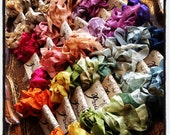 Seam Binding Ribbon - Hand Dyed - ANY COLOR - French Market - SBHD 000