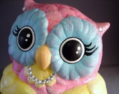 Olivia the Owl Ceramic Figurine