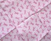 DESTASH - Pink Gingham Ribbons