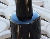 Black Lacquer Handmade Matte Nail Polish
