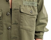 The Vintage Green Femme US Army Jacket