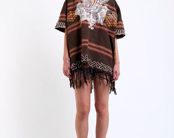 The Vintage Bombay Embroidered Tunic Dress