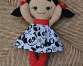 CUSTOM Calico Rag doll Baby Asian