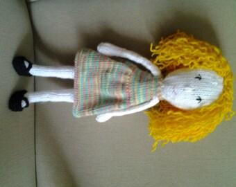 Cute, curley headed doll