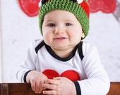 TMNT Beanie - Totally Radical Crochet Hat for Heroes of All Ages - Photo Prop/Everyday Wear/Teenage/Mutant/Ninja Feats of Bodaciousness