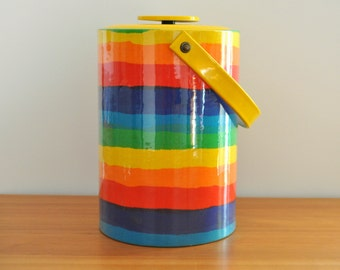 extra large rainbow ice bucket