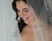Bridal headband, wedding headband, bridal headpiece, headband, wedding headband, rhinestone headpiece, wedding, two row rhinestone, JEWEL