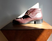 Back to School Ankle Boots in Madder Brown Leather