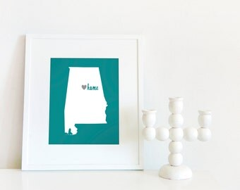 Birmingham is My Home // 8x10 Digital Alabama Print