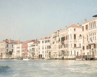 Venice Photography -  The Grand Canal in Venice, Italy Travel Photograph, Home Decor, Large Wall Art