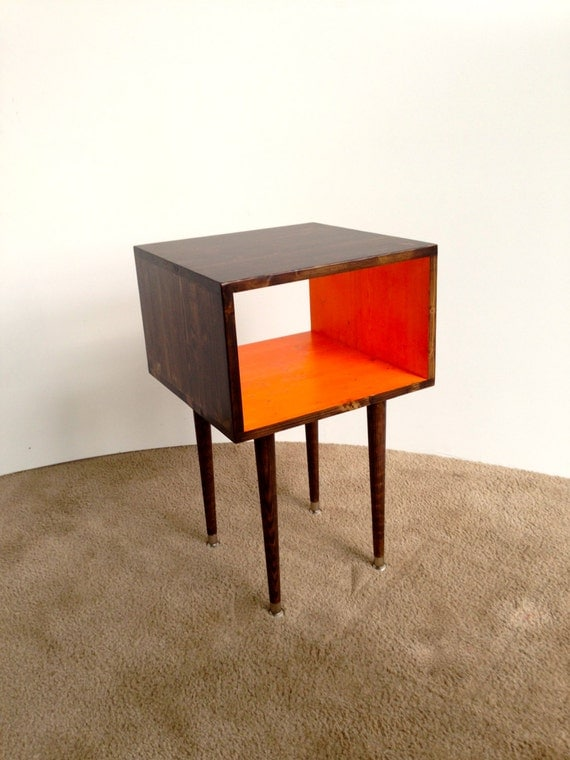 Items Similar To Free Shipping The Joilet Side Table Mid Century Modern Side Table
