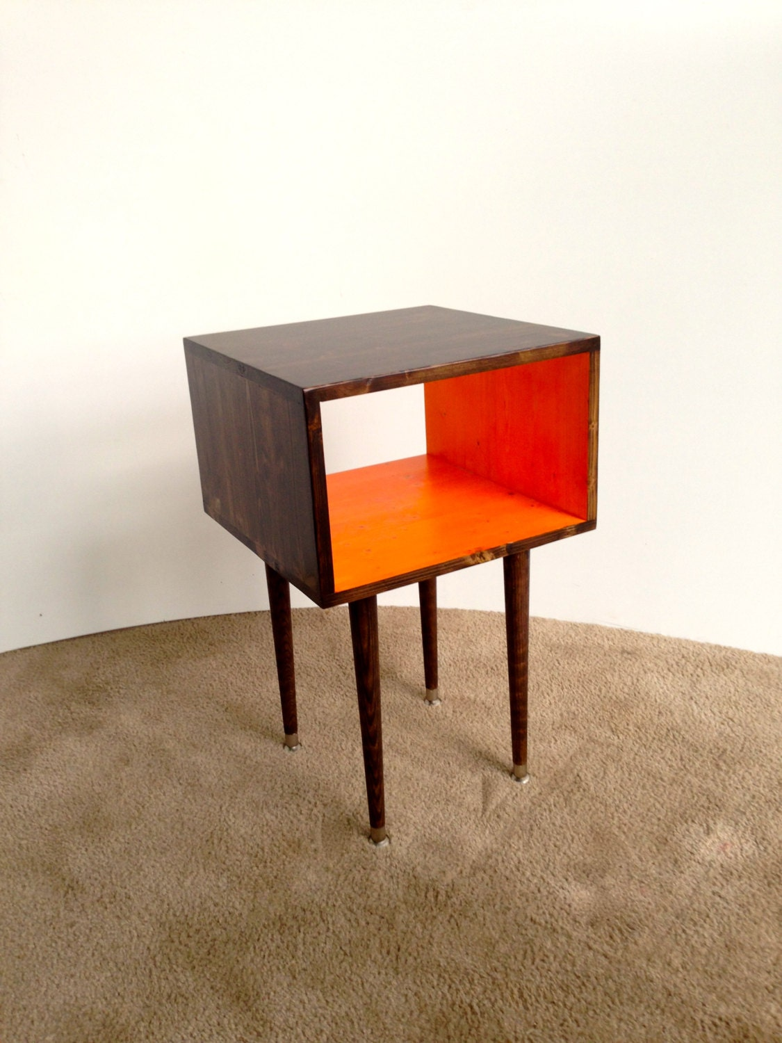 Free shipping the joilet side table mid century modern Modern side table