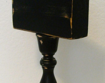 Candlestick Photo Stand small