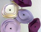 Pleasingly Purple Popnculus Paper Flower Bouquet, Paper Flowers, Home Decor, Paper Art, Handmade Flowers, Table Decor, Wedding Decoration