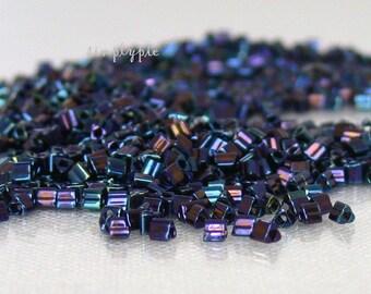 Triangle Metallic Nebula 11/0 Toho Glass Seed Beads 10-Grams