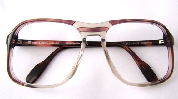 Eyeglass Frames Aviator Style : 70s NEO STYLE Aviator Eyeglass Frames Vintage by ifoundgallery